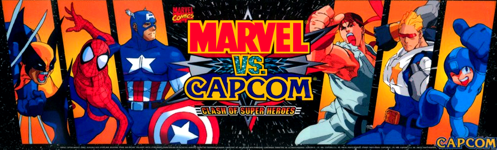 Marvel vs. Capcom: Clash of Super Heroes (1998)