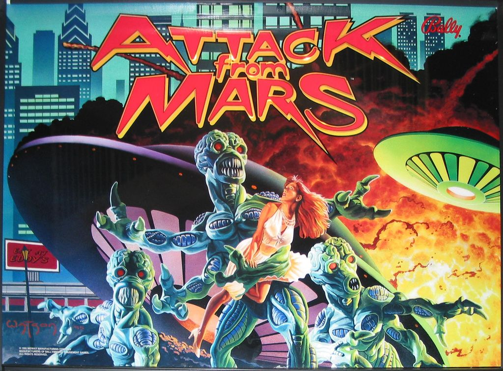 Attack From Mars (1995)